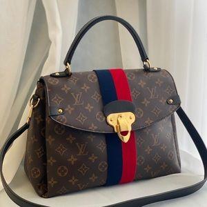 Louis Vuitton top handle monogram satchel
